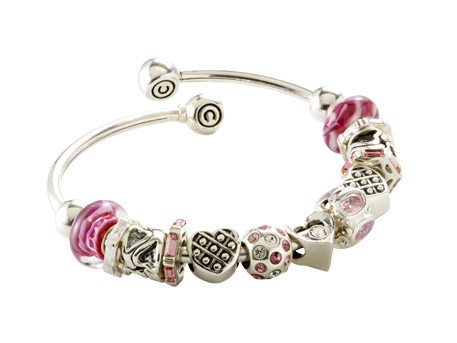 Bangle Charm Bracelet - Please visit our store to see our entire collection of silver jewelry.