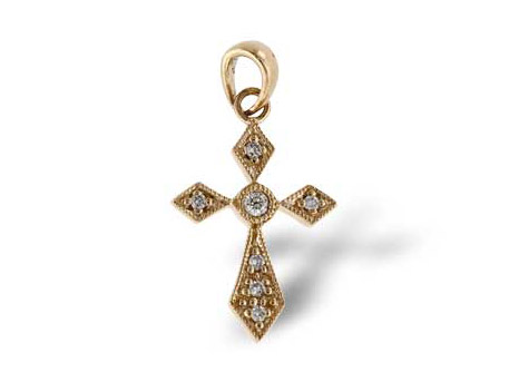 Cross Pendant - Please visit our store to see our entire collection of diamond fashion jewelry