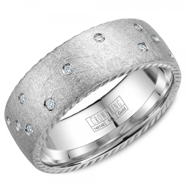 WB-020RD8W by Crown Ring