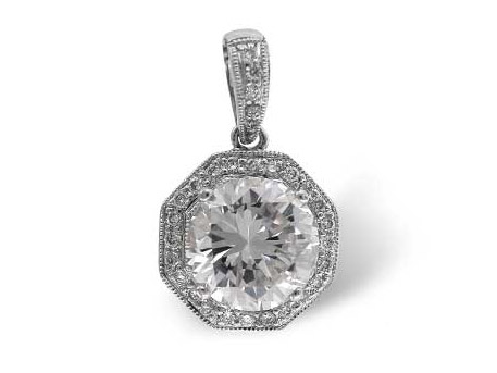 Diamond Pendant - Please visit our store to see our entire collection of diamond fashion jewelry
