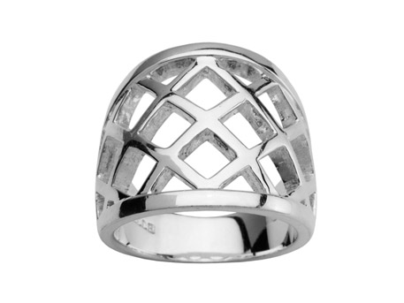 Silver Ring - Please visit our store to see our entire collection of silver jewelry.