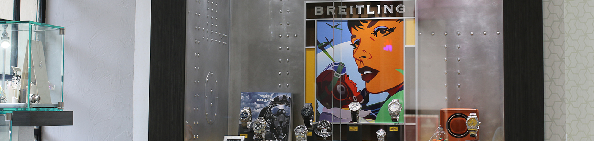 Breitling Watches available at Blue Water Jewelers in St. Augustine FL -